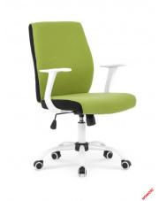 Zielono-czarny fotel pracowniczy MARINS w sklepie Dedekor.pl