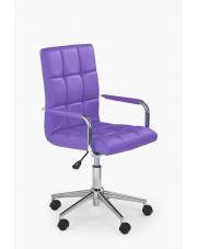 Fotel obrotowy do biurka Goznalo fiolet w sklepie Dedekor.pl