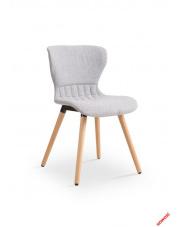 Niebanalne krzesło MOLI - drewno lite w sklepie Dedekor.pl