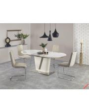 Piękny stół rozkładany LAVIS kremowy