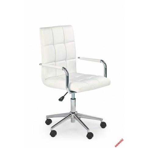 Piękny fotel młodzieżowy CUBITO biały w sklepie Dedekor.pl