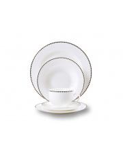 Elegancki serwis obiadowy Casablanca 30 elem. porcelana w sklepie Dedekor.pl