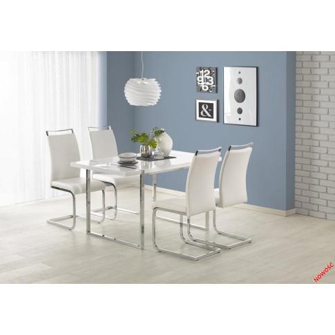 Rewelacyjny stół TREVIS - biały w sklepie Dedekor.pl