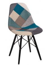 Unikalne krzesło PATTI - patchwork w sklepie Dedekor.pl