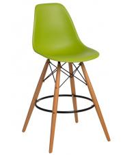 Designerski hoker ELLIE - zielony w sklepie Dedekor.pl