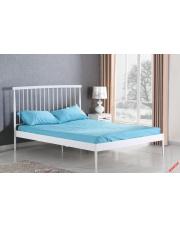 Piękne łóżko MONROE - białe w sklepie Dedekor.pl