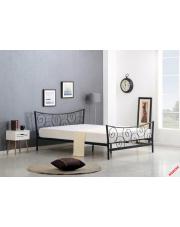 Piękne łóżko RENEO - czarne w sklepie Dedekor.pl