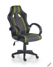 Popielato - zielony fotel gabinetowy PIXIE w sklepie Dedekor.pl
