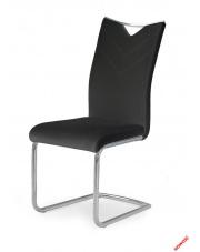 Czarne krzesło KIMBI - eco skóra w sklepie Dedekor.pl