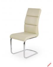 Stylowe krzesło LOTUS - kremowe w sklepie Dedekor.pl