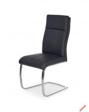 Komfortowe krzesło TOLI - czarne w sklepie Dedekor.pl
