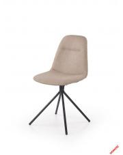 Beżowe krzesło REVIS - tkanina