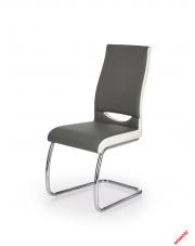 Designerskie krzesło MILEA - biel i popiel w sklepie Dedekor.pl