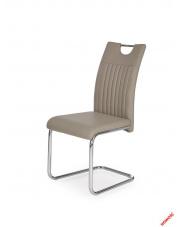 Wygodne krzesło ATROS - cappuccino w sklepie Dedekor.pl