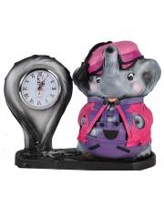 Zegar dla dzieci Słonik