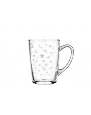 Srebrny kubek STARS - 300 ml w sklepie Dedekor.pl