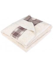 Komplet 3 szt ręczników beżowych w ozdobnym pudełku w sklepie Dedekor.pl