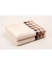 Ręcznik bawełniane Fashion Round Ecru 130x70 w sklepie Dedekor.pl