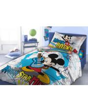 Pościel dla dzieci  Myszka Mickey Rock 160/200 cm