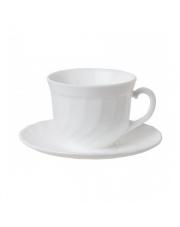 Serwis kawowy biały TRIANON 12 elem. 220 ml w sklepie Dedekor.pl