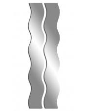 Wyjątkowe lustro akrylowe MONTREO - 2 elementy w sklepie Dedekor.pl