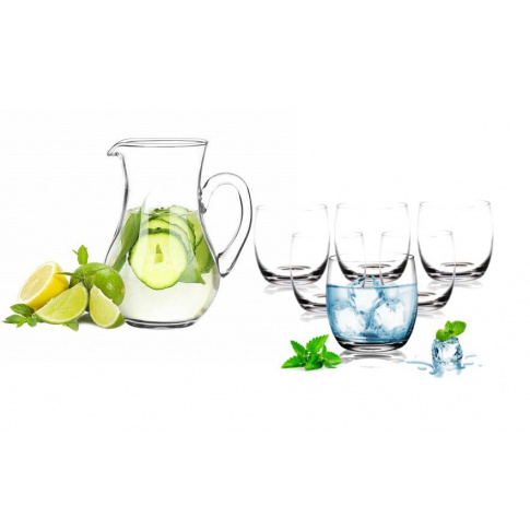 Dzbanek do wody + szklanki  6szt  w sklepie Dedekor.pl