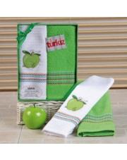 Zestaw ręczników kuchennych PIXI zieleń w sklepie Dedekor.pl