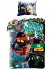 Świetna pościel dla dzieci LEGO NINJAGO - 140x200 cm w sklepie Dedekor.pl