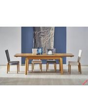 Piękny stół rozładany ALEKSI - miodowy dąb w sklepie Dedekor.pl
