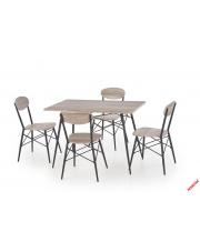 Zestaw stołowy LEONE - stół + 4 krzesła w sklepie Dedekor.pl