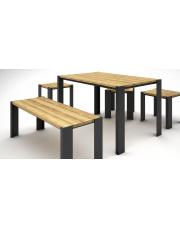 Nowoczesny drewniany stół do ogrodu Nord 180cm  w sklepie Dedekor.pl