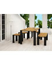 Stół tarasowy drewniany 150cm