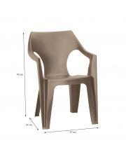 Modne krzesło ogrodowe DAN