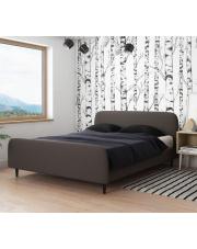 Piękne szare łóżko MIDAS - 2 rozmiary w sklepie Dedekor.pl