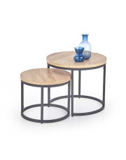 Komplet stolików Loft  w sklepie Dedekor.pl