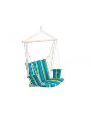 Ogrodowe krzesło wiszące huśtawka bujana
