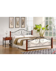 Stylowe łóżko LORA - 160 cm w sklepie Dedekor.pl