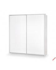 Pojemna szafa MONICA 230 cm - biała w sklepie Dedekor.pl