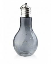 Żarówka LED dekoracyjna 20 cm szara