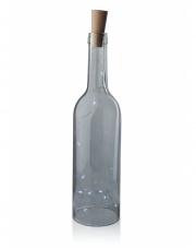 Ozdoba LED świecąca butelka z korkiem