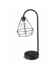 Lampa stołowa nocna czarna led loft w sklepie Dedekor.pl
