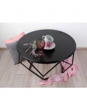Elegancki stolik kawowy czarny Henri w sklepie Dedekor.pl