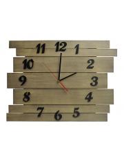 Zegar drewniany dąb sonoma