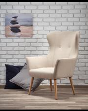Nowoczesny fotel wypoczynkowy LIGOS - 4 kolory w sklepie Dedekor.pl