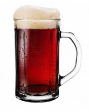 Kufel do piwa grube szkło w sklepie Dedekor.pl
