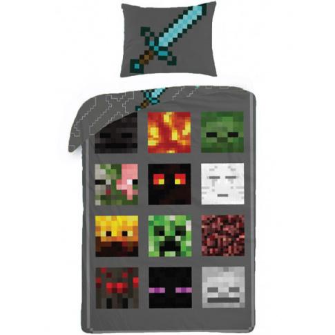 Komplet Pościeli Dla Gracza Minecraft