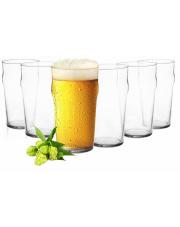 Komplet szklanek do napojów lub piwa 550 ml w sklepie Dedekor.pl