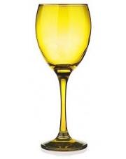Żółty kieliszek do wina 300 ml w sklepie Dedekor.pl