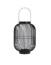 Lampion metalowy czarny  w sklepie Dedekor.pl