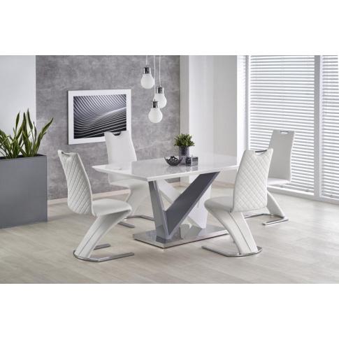 Biały stół - Atkins w sklepie Dedekor.pl